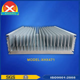 産業設備のためのアルミニウム放出脱熱器