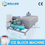5t/dia gelado industrial máquina de fazer blocos para áreas quentes