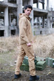 Chaqueta táctica impermeable al aire libre de la caza de los militares de Tan