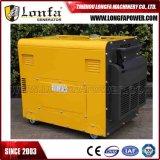 5KW 6kVA gerador diesel tranquilo espera em casa