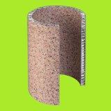 Steinaluminiumbienenwabe-Panel für Fassade-Umhüllung