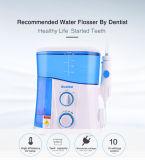 Dents nettoyant la soie dentaire purgée UV de l'eau de qualité dentaire de plateau de dispositifs
