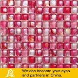 Mosaico de vidrio de color especial de la forma del pan de la venta caliente para la serie de la miel de la decoración (miel amarillo / azul / color de rosa / mezcla)