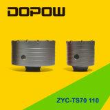 Il foro ha veduto la taglierina SDS più l'asta cilindrica connettente Zyc-Ts70-110