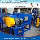 Película de PE/PP/HDPE que recicla la lavadora/el bolso tejido plástico inútil que reciclan la línea