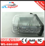 소형 Lightbar 24 LED 스트로브 램프를 경고하는 호박색 백색 스트로브