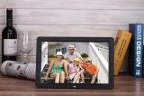 12 인치 HD 영상 실행을%s 가진 호리호리한 디지털 액자