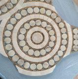 パターン贅沢な中国様式のWaterjet大理石のモザイク・タイル