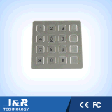 防水キーパッド、アクセス制御のための金属のキーパッド