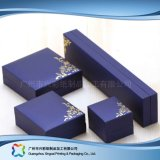 Le cadre de empaquetage en bois d'étalage de montre/bijou/cadeau de carton a placé (xc-hbj-043)