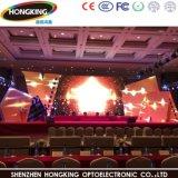 Miete LED-Innenbildschirm der hohen Präzisions-P3.91 farbenreicher