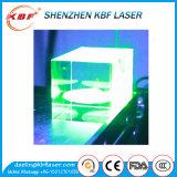 Máquina de marcação de gravura a laser verde 3D para cristal de vidro