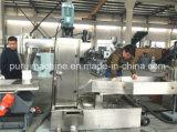 ペレタイジングを施す不用なプラスチックフィルムロールスロイスのためのプラスチックリサイクル機械