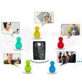 Дверной звонок системы внутренней связи телефона двери беспроволочного пароля WiFi RFID видео-