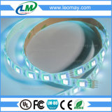 3 indicatore luminoso di striscia flessibile dell'interno variopinto dei chip SMD 5050 RGB Epistar LED