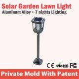 Le jardin extérieur actionné solaire allume augmenter de mouvement de PIR