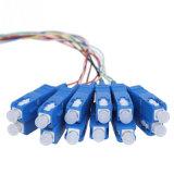 PLC 1*16 강철 관 포장을%s 가진 싱글모드 광섬유 쪼개는 도구