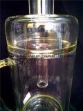 Tubulação de água de vidro de fumo colorida original proeminente