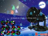 2017 het Goedkope 12 LEIDENE van het Motief van de Vakantie van Dia's Licht van de Projector, de Verlichting van de Sneeuwvlok van de Projector van de Lichten van de Laser van Kerstmis