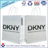 高品質の再生利用できる習慣によって印刷されるクラフト紙袋