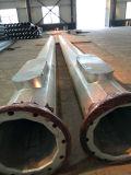 Alto acero galvanizado poste de la iluminación del mástil