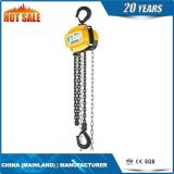 Le bloc de levier de 1.5 tonne, lèvent à l'aide d'un levier le bloc à chaînes, élévateur à chaînes