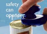 熱い販売の安全ハンドルの柔らかいグリップの缶切り