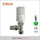 Winkel, der thermostatisches Kühler-Ventil mit Bescheinigung En215 poliert