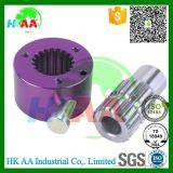 Ts16949 Alumínio OEM certificadas de liberação rápida do estriado do Cubo da Roda de Direção