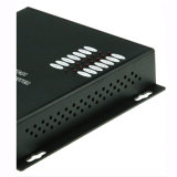 Transceptores ópticos de vídeo analógico de vídeo de 8 canais