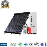 100L 150L 200L 250L 300L 400L 500L 600L 700L 800L 1000Lのソーラーコレクタ(HSP-58)が付いている2000Lによって分けられる加圧太陽熱湯ヒーター