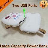 2개의 USB 포트 (YT-PB27-03)를 가진 새로운 8000mAh Totoro 힘 은행