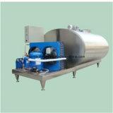 Leche fresca del tanque de refrigeración