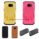 Móvil/cubierta de cuero Textured del teléfono celular para Samsung A3 2017
