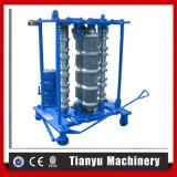 Rodillo de acero del azulejo de la hoja de la azotea que curva que forma la máquina