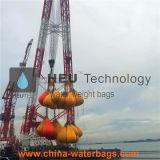 Test de chargement de sac de poids de l'eau
