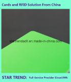 Impressão offset e impressão em seda Cartão de plástico padrão Cr 80