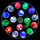 ビーム効果の新しいUFO 16X3w RGBWのクリスマスの照明