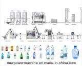 Automática de 5 galones botella de llenado de llenado máquina taponadora