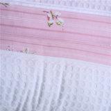 Soem-Baumwollrosa-Streifen-weiche Hauptkissen