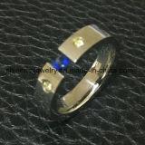 De in het groot Besnoeiing &#160 van de Draad van de Juwelen van het Lichaam; De Ring van het roestvrij staal (CZR2590)