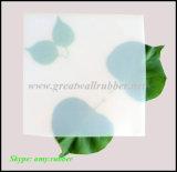 Las hojas de caucho de silicona, colorida alfombra de caucho de silicona