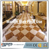 호텔 마루 벽 건축재료를 위한 금 대리석 석판