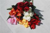 Silk искусственние цветки тюльпана для Centerpieces таблицы венчания