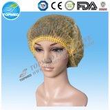 Casquillo del clip de la fábrica de China, toca, casquillo de la fregona, casquillo disponible, el doctor Cap, casquillo quirúrgico,