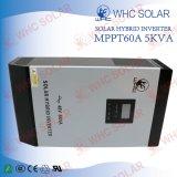 fora do inversor híbrido solar do sistema de energia da grade com controlador