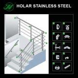 Foshan barandilla de acero inoxidable, escaleras de Terrance balaustrada Accesorios