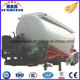 3 Semi Aanhangwagen van de Vrachtwagen van de Tanker van het Poeder van de Steenkool van de as de Rookloze