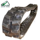Trilha de borracha da máquina escavadora da maquinaria de construção (180X72)