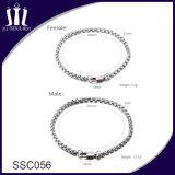 De hete Verkopende Armband van de Ketting van de Vrouwen van het Roestvrij staal van het Paar van Juwelen 304L